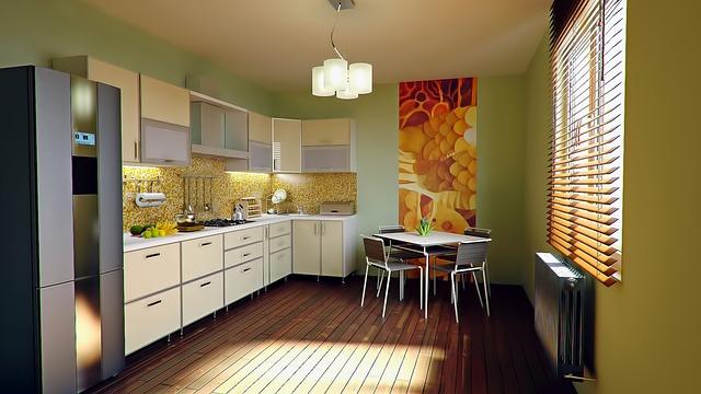 moderní nová kuchyně