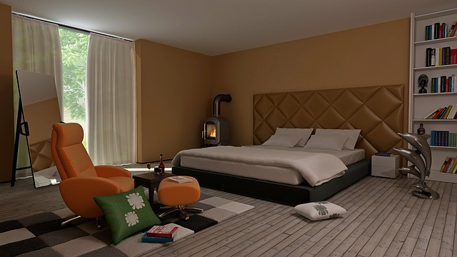 ložnice s obývací částí