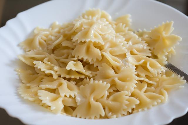 mašličky těstoviny