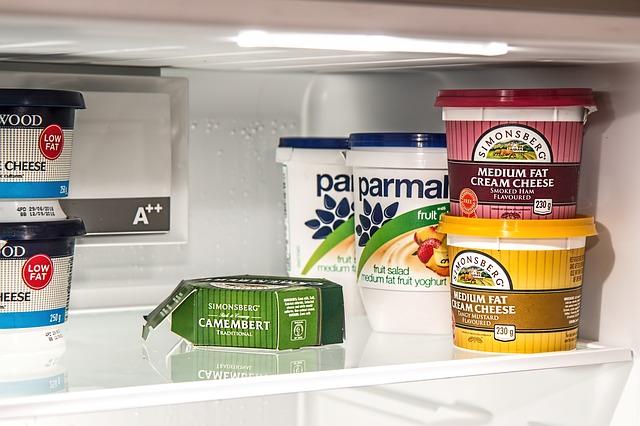 jídlo v chladničce