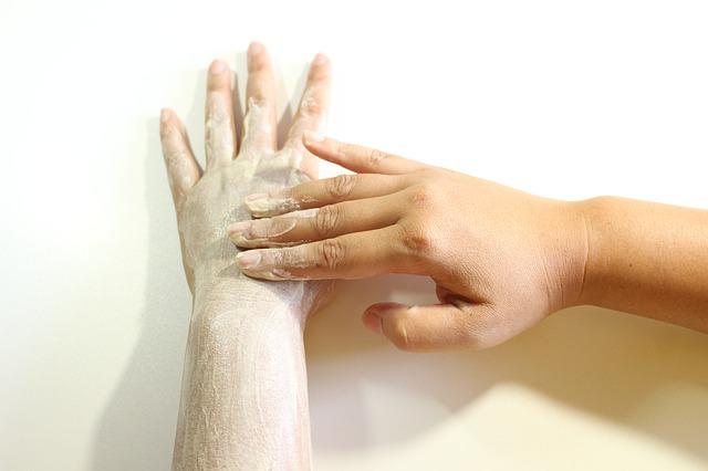peeling ruky