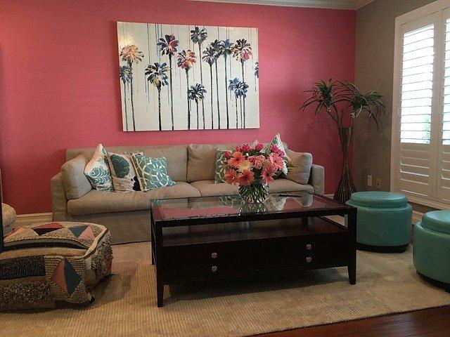 růžová místnost
