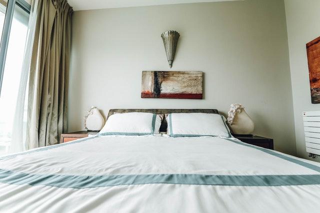 manželská postel, obraz